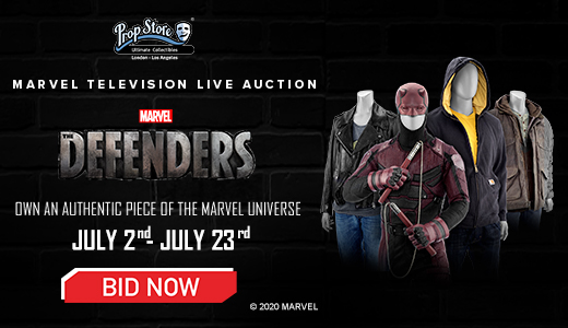 Marvel Television Live Auction - Marvel's The Defenders, Marvel's Daredevil, Marvel's Jessica Jones,