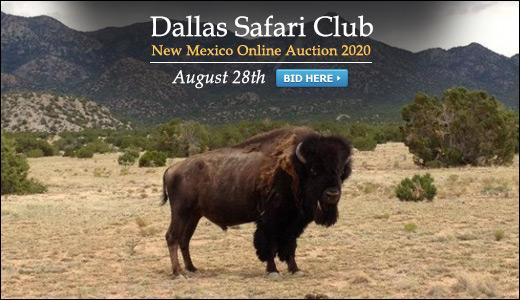 Dallas Safari Club - New Mexico Online Auction 2020