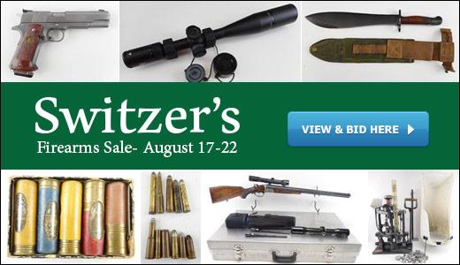 August 2020 Firearms Sale