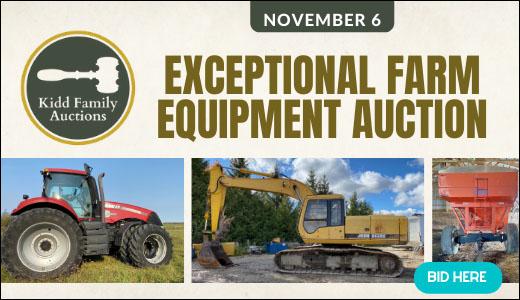 NOV 6TH - EXCEPTIONAL FARM EQUIPMENT AUCTION