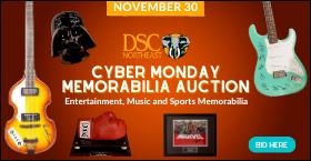 DSC Northeast Cyber Monday Memorabilia Auction