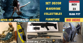 MOVIE SET UNRESERVED AUCTION (3 seasons TV Series)
