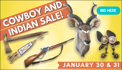 Cowboy and Indian Sale!