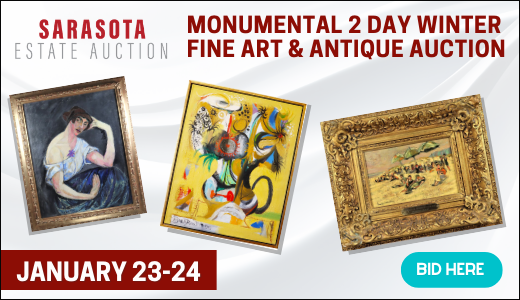 Monumental 2 Day Winter Fine Art & Antique Auction