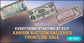 Everything starting at $1!!! Karisik Auction Galleries frontline sale