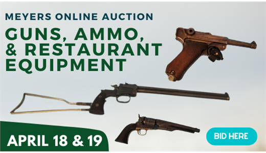Meyers Online Guns, Ammo, & Restaurant Equipment Spring 2021