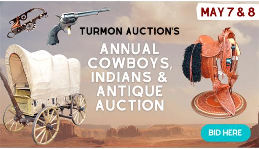 Annual Cowboys, Indians & Antique Auction