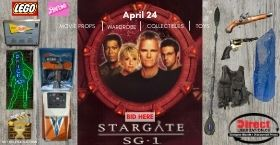 Stargate , Movie Set , Sci-Fi Wardrobe , Toys & more (unreserved auction)