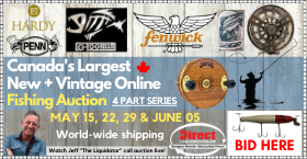 Canada's Largest New & Vintage Fishing Collection Auction Series