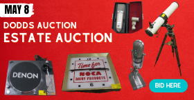 ESTATE - 'ON SITE VIEWING' 'ONLINE AUCTION - TIMED BIDDING - SATURDAY, MAY 8TH @ 9 AM PDT