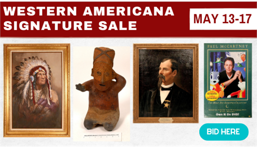 Western Americana Signature Sale (May 2021 Auction)