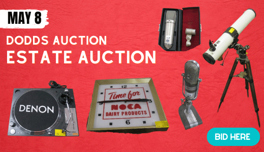 ESTATE - PART 1 -  'ON-SITE VIEWING' 'ONLINE ONLY' - TIMED BIDDING - SATURDAY, MAY 8TH @ 9 AM PDT
