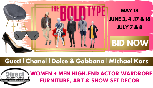 The Bold Type TV Series Set Dec & Wardrobe Auction