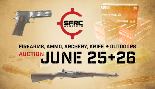 June 25th and 26th  Firearms, Ammo, Archery, Knife & Outdoors