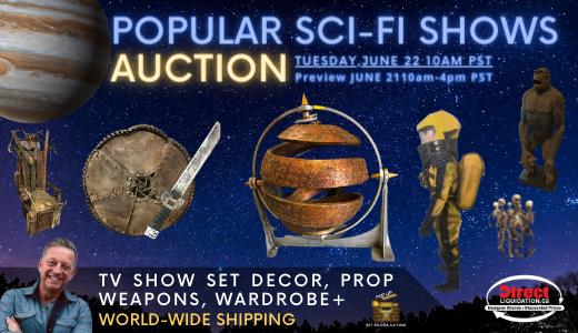 Popular Sci-Fi TV Show Auction