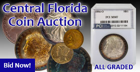 Rare graded coins, silver dollars and much more
