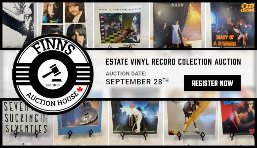 Estate Vinyl Record Colection Auction