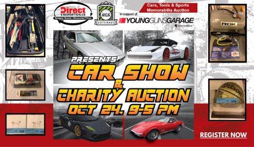 Tools, Cars, Sports Collectibles, Nascar Toys Live & Online Oct 24 - In Support Of Young Guns Garage