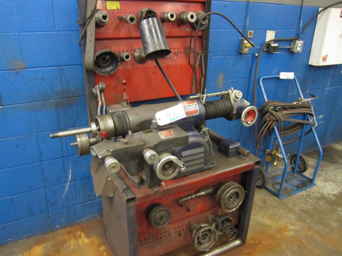 Ammco Brake Lathe >> Ammco Model 6900 Brake Lathe W Twin Turning Tool 1 Hp 115v 1 Ph