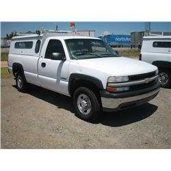 2002 CHEVY 2500 REG CAB, CNG TRUCK,