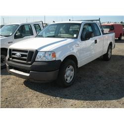 2005 FORD F250XL  S/D EXT CAB ,