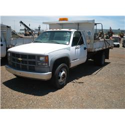 1999 CHEVY 3500 W DUMP BED,