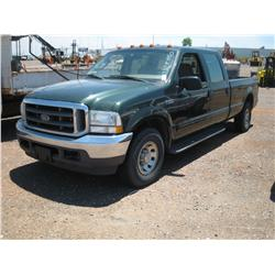 2003 FORD F250 SUPER DUTY, 4DR