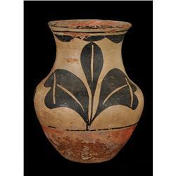"Santo Domingo Pottery Jar 7""x 8""  Fine Condition"