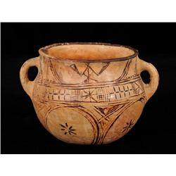 """Cochiti Pueblo Pottery Olla 7 1/2"""" D. 5"""" H.  Good Condition"""