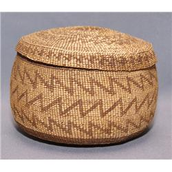 HUPA LIDDED BASKET