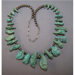 PUEBLO NUGGET NECKLACE