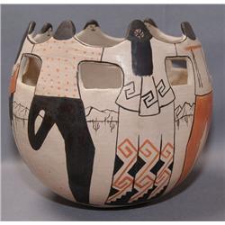 PAPAGO POTTERY JAR