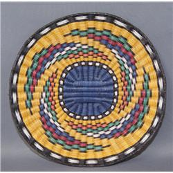 HOPI WICKER BASKETRY PLAQUE