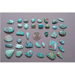 COLLECTION OF TURQUOISE CABS