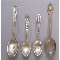 COLLECTION OF NAVAJO SPOONS