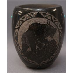 SIOUX POTTERY VASE