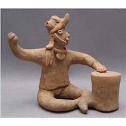 COLIMA POTTERY DRUMMER