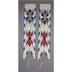SIOUX BEADED ARMBANDS