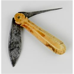 Pre-Civil War Sailor's Knife and Awl