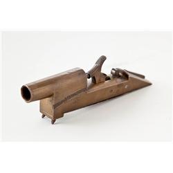 Antique Bronze Alarm Gun