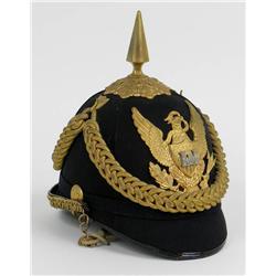 U.S. 1881 Mounted Engineer Officer's Helmet