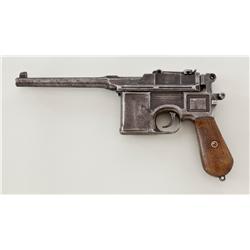 Standard Pre-War Commercial Mauser C96 Pistol