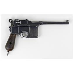 Early Transitional Lg Ring Hammer Mauser C96 Pistol