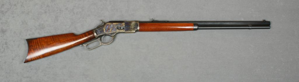 Uberti copy of a Winchester Model 1873 lever action rifle,  357