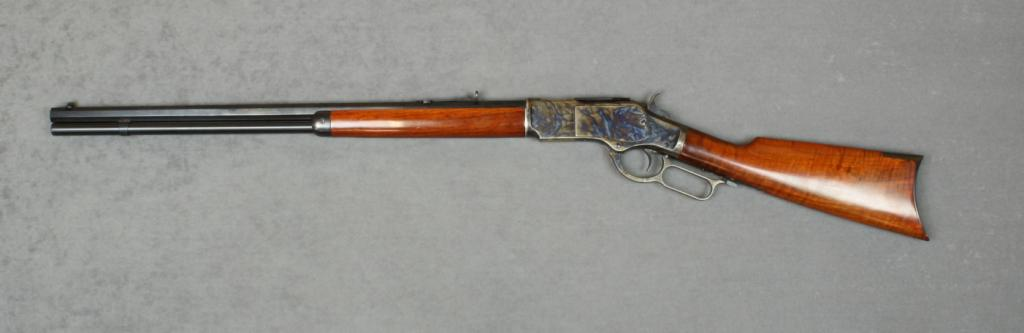 Uberti copy of a Winchester Model 1873 lever action rifle