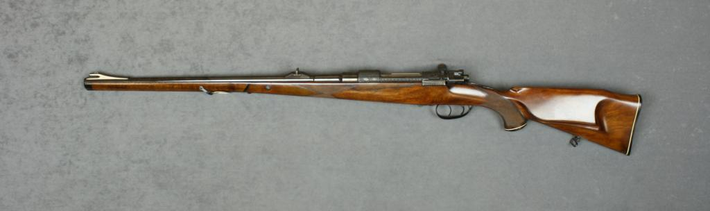 Beautifully customized Mauser Model 98 action into a
