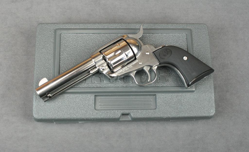 Ruger New Vaquero single action revolver,  357 magnum cal