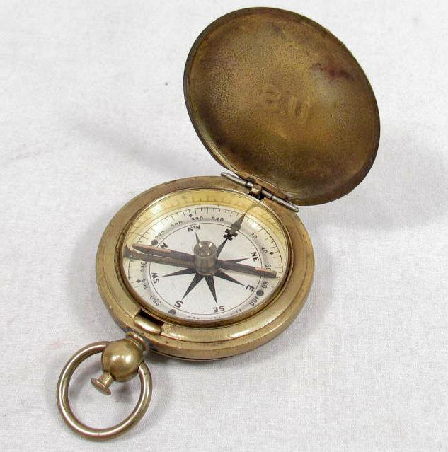 Antiques Us: US WW1 ARMY MILITARY SERVICE COMPASS