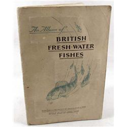 1933 PLAYERS CIGARETTE CARD ALBUM - BRITISH FRESH-WATER FISHES - COMPLETE