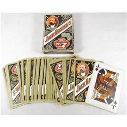 C. 1950'S COMPLETE SET OF JACK DANIELS PLAYING CARDS